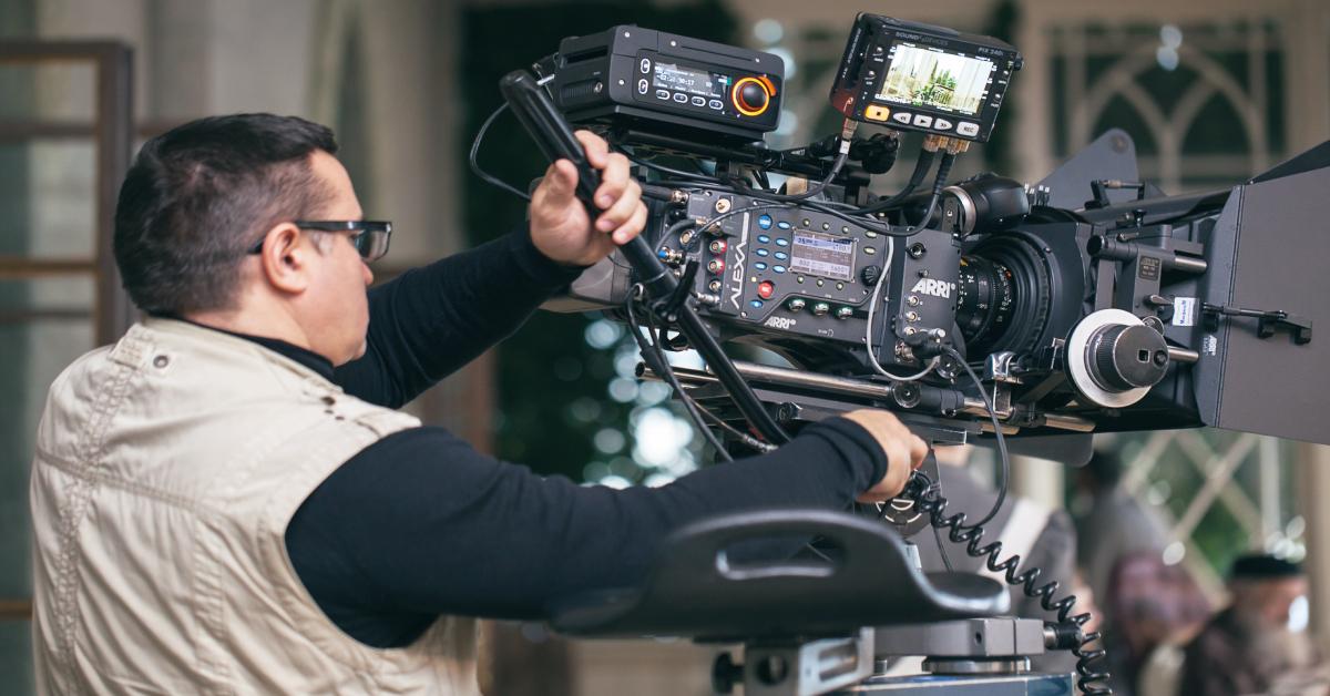 video capturing banner